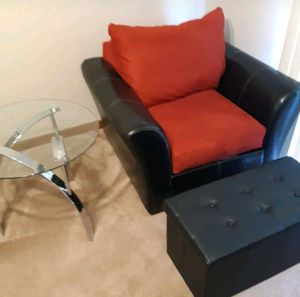 Chair table and ottoman for Sale in Smyrna, TN