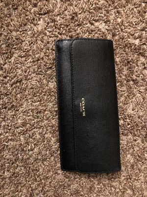 Coach wallet for Sale in Burlington, NJ