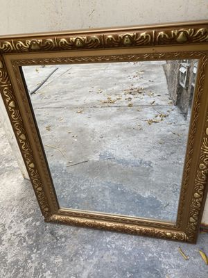 Gold mirror for Sale in Downey, CA
