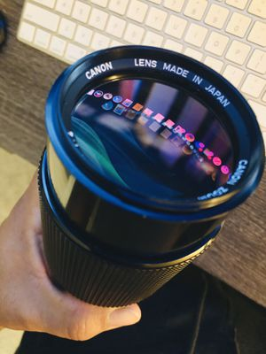 Canon fd and Nikon lenses for Sale in San Diego, CA