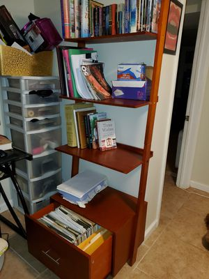 Bookshelf with filing cabinet draw for Sale in Woodmere, NY
