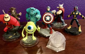 Disney Infinity figures for Sale in Tacoma, WA