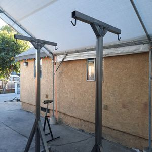 Heavy duty punching bag stands for Sale in Carson, CA
