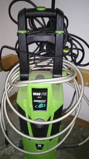 Pressure washer (electric) name brand Earthwise used one time for Sale in Troy, IL