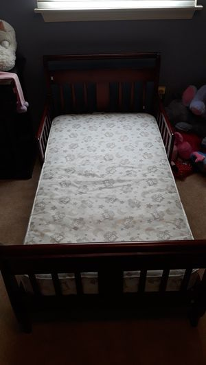 Like new bed for kids with mattress for Sale in Allentown, PA