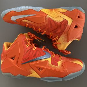 """Nike LeBron 11 Preheat """"Forging Iron"""" (size 10) for Sale in Commerce, CA"""