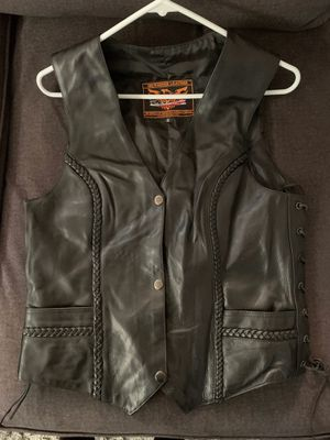 Leather Motorcycle vest for Sale in El Cajon, CA