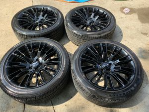 Rims 20 oem Chrysler 300 charger challenger magnum gloss black will fit 2005 to 2020 for Sale in Dallas, TX