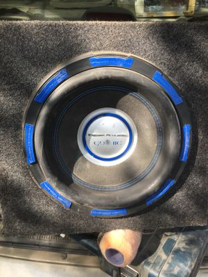 Power acoustic 12 in gothic subwoofer for Sale in Farmville, VA