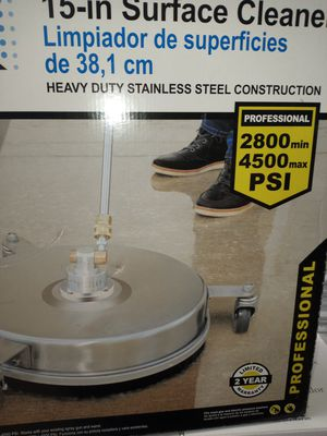 Floor attachment for pressure washer for Sale in Bakersfield, CA