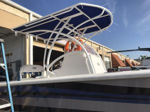 T TOP, ⛵️⛵️⛵️⛵️🇺🇸⚓️⚓️ TECHOS DE BOTES CENTER CONSOLA,WALK AROUND,CRUISER,DOUBLE CONSOLE,ARCO,ALL IN ALUMINUM FOR BOAT for Sale in Hialeah, FL