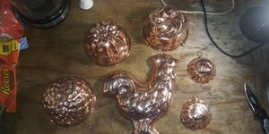 Vintage copper pans for Sale in Waxahachie, TX