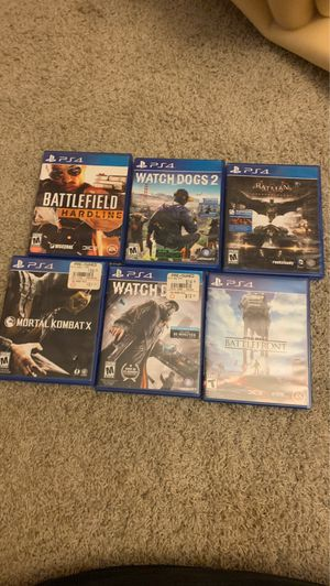 13 ps4 games and a ps2 controller for Sale in Los Angeles, CA