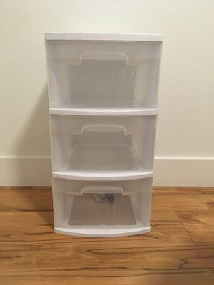 Steralite 3 plastic drawer for Sale in Burien, WA
