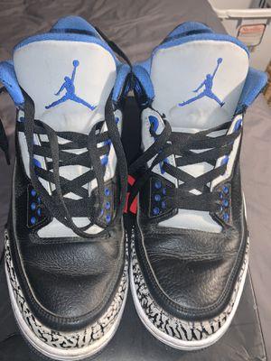 Jordan Retro 3 Sport Blue for Sale in Corona, CA