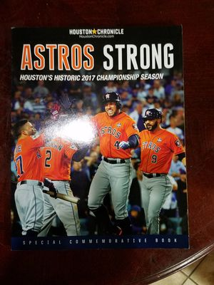 2017 Houston Astros Champions for Sale in Rosenberg, TX