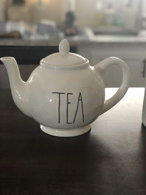 Rae Dunn Tea Pot for Sale in Fort McDowell, AZ