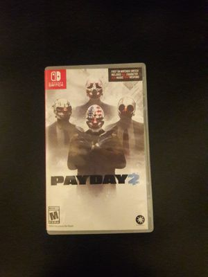 Payday 2 Nintendo Switch for Sale in Fontana, CA