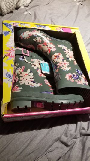Brand new Joules rain boots for Sale in San Antonio, TX