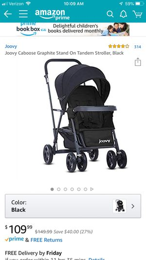 Joovy caboose sit and stand stroller for Sale in Crestview, FL