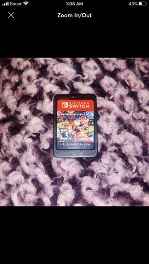Mario kart 8 in blank switch case for Sale in Winston-Salem, NC