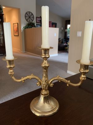 Gold plated candelabra for Sale in Glendora, CA