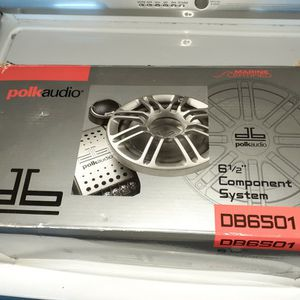 Polk Audio 6.5 Inch Component Speakers for Sale in Fremont, CA