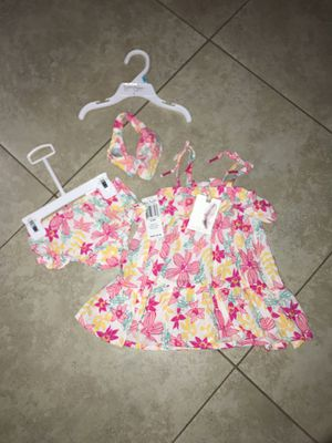 Jessica Simpson Baby Girl's Summer Flower Dress, Size 6-9 months for Sale in San Diego, CA