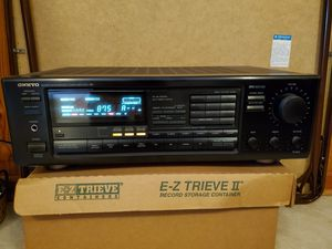 Onkyo TX Quartz synthesized tuner amp for Sale in Chattanooga, TN