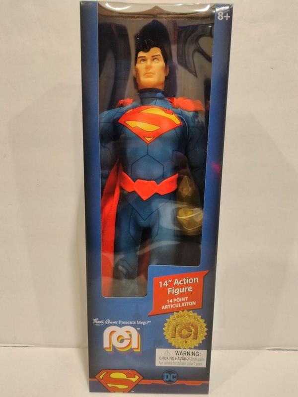 "MEGO Limited Edition Retro DC Hero 14"" Superman Action Figure"