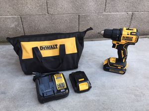 """Dewalt 20v Max 1/2"""" Drill Driver with 2- battery and charge for Sale in Phoenix, AZ"""