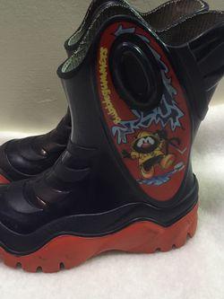 Bubblegummers toddler boys size 9/10 rain boots for Sale in Cicero,  IL