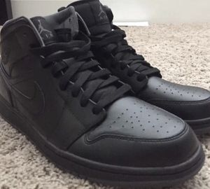 Jordan 1 All Black Size 12 for Sale in Tampa, FL