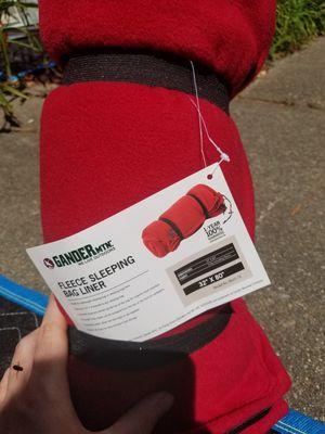 Fleece sleeping bag liner for Sale in Norfolk, VA