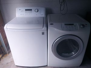 Lg washer and maytag dryer 500$$ delivered and installed for Sale in Frisco, TX