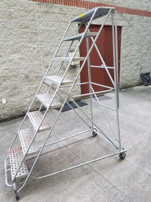 Industrial rolling locking ladder for Sale in Nashville, TN