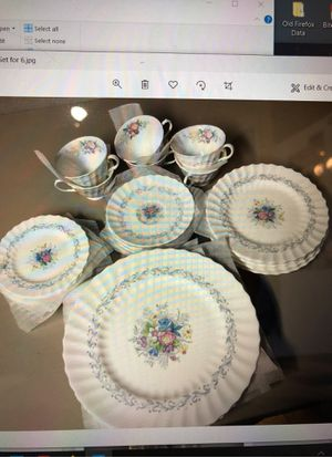 Antique Royal Daulton Windermere China, set for 6, River Vale New Jersey for Sale in Woodcliff Lake, NJ