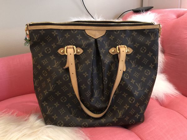 82166d7fc2 LOUIS VUITTON Palermo GM M40146 Shoulder Bag Monogram for ...