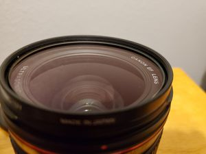 Canon EF 35mm 1.4 L series prime lens for Sale in San Diego, CA