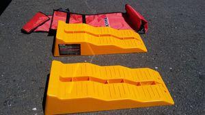 Multi-level Ramp Chock Blocks for RV Trailer Tire, $15 for Sale in Eugene, OR