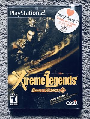 Dynasty Warriors 3: Xtreme Legends for PlayStation 2 (PS2) for Sale in Somerville, MA