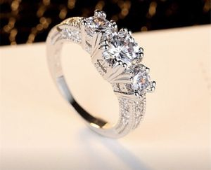White Sapphire 925 Silver Wedding ring size 7 for Sale in Riverside, CA
