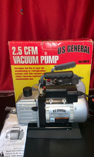 US General 98076 Vacuum Pump 1/6hp-1720Rpm 115v⬆️ for Sale for sale  Morrisville, PA