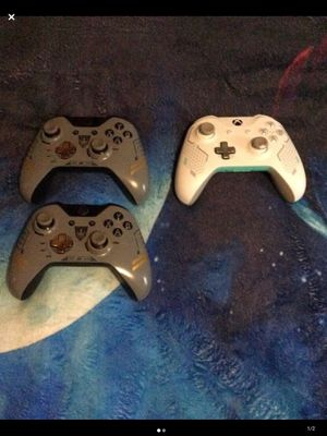 Xbox limited edition controllers for Sale in Selma, NC