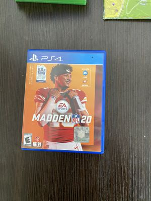 Madden 20 for Sale in West Valley City, UT