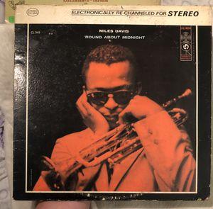 Miles Davis Round About Midnight Vinyl Record for Sale in Sterlington, LA