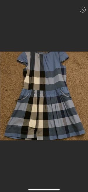 Burberry checkered dress for Sale in Cincinnati, OH