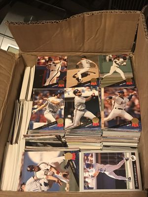 1990's Baseball Card Mixed Box Lot 5000 for Sale in Covina, CA