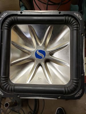 "One 15"" Kicker l7 solo baric 2ohm for Sale in Chicago, IL"