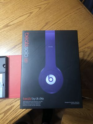 Beats solo by dr.dre for Sale in Plainfield, IL